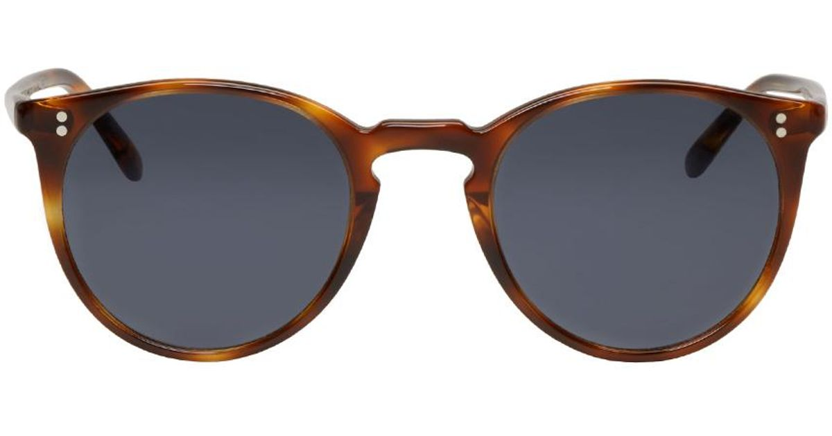cc0b84a00185 Lyst - Oliver Peoples Tortoiseshell The Row Edition O malley Nyc Sunglasses  in Brown for Men