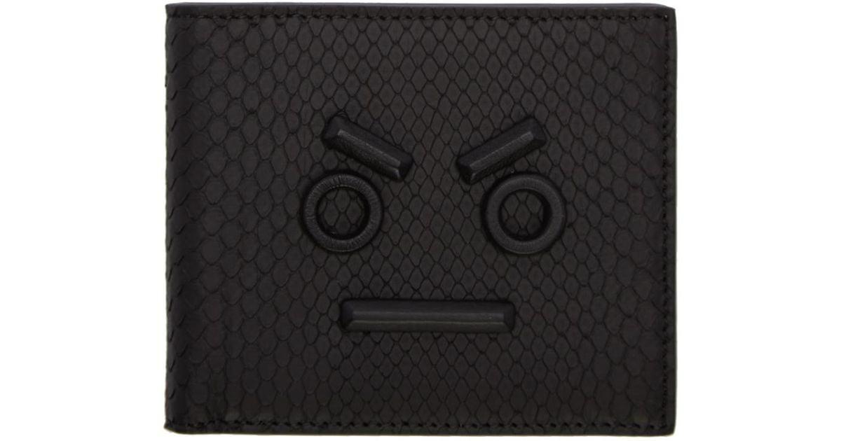 ... low cost lyst fendi black python faces wallet in black for men 1e88f  0bebf ff4e781149922