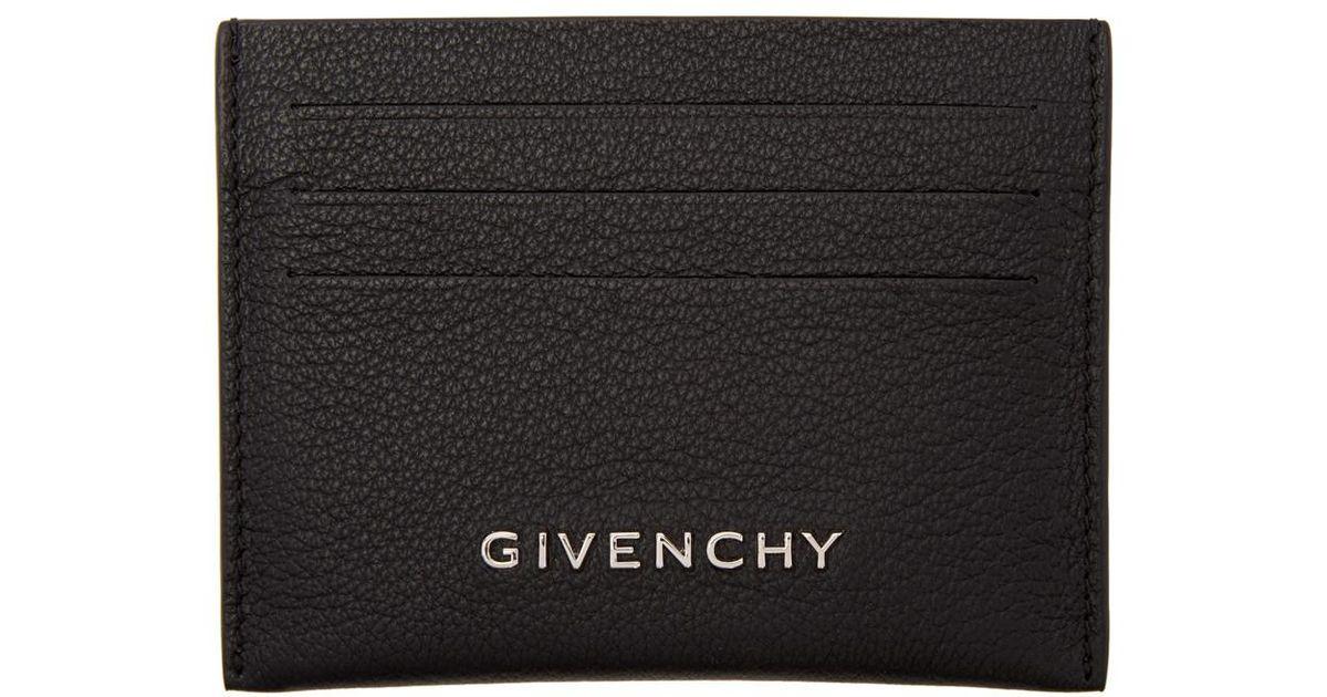 meilleur service dcd16 2850d Porte-cartes noir Pandora Givenchy en coloris Black