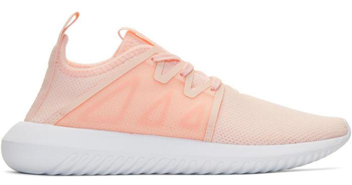 Adidas Originals Pink Tubular Viral 2 Sneakers