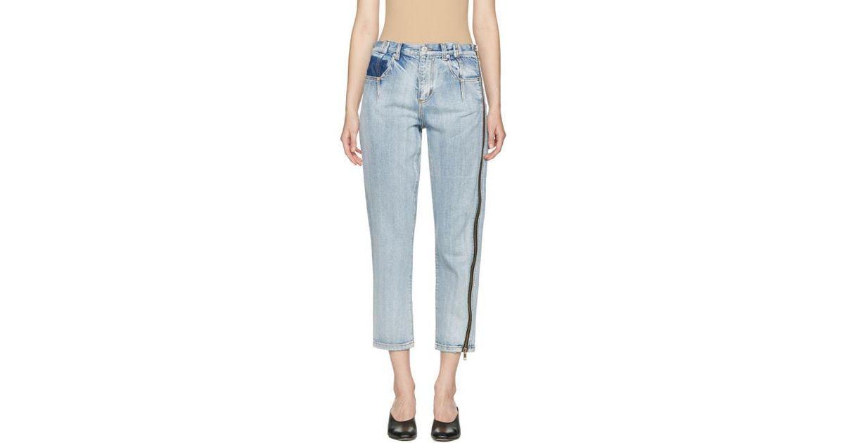 Slim fit jeans front zipper details 3.1 Phillip Lim nHm0gk