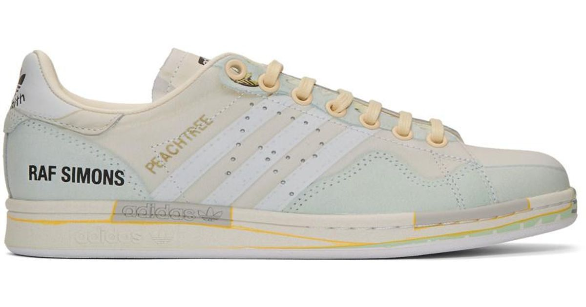 Raf Simons Off white Adidas Originals Edition Peachtree Stan Smith Sneakers for men