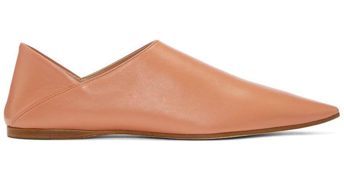 Acne Studios Pink Aminata Slippers G60AoH0P