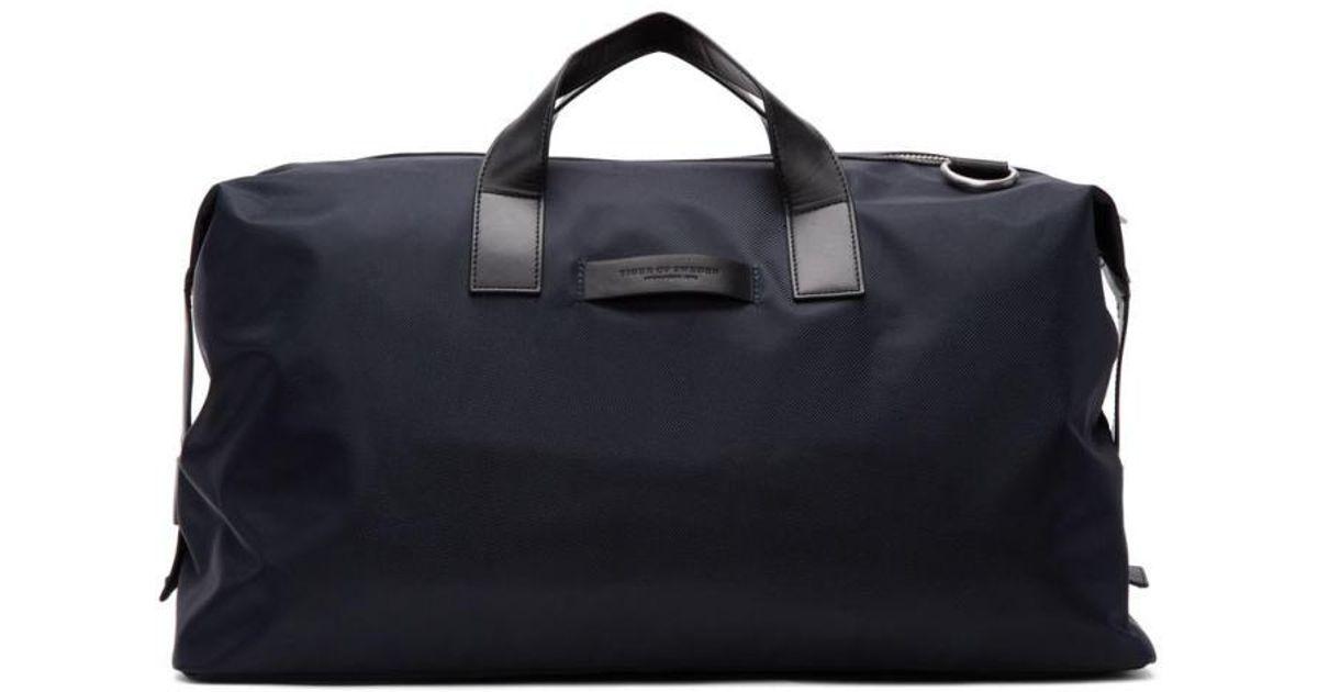 d489a0f577 Lyst - Tiger Of Sweden Navy Fabian Duffle Bag in Blue for Men