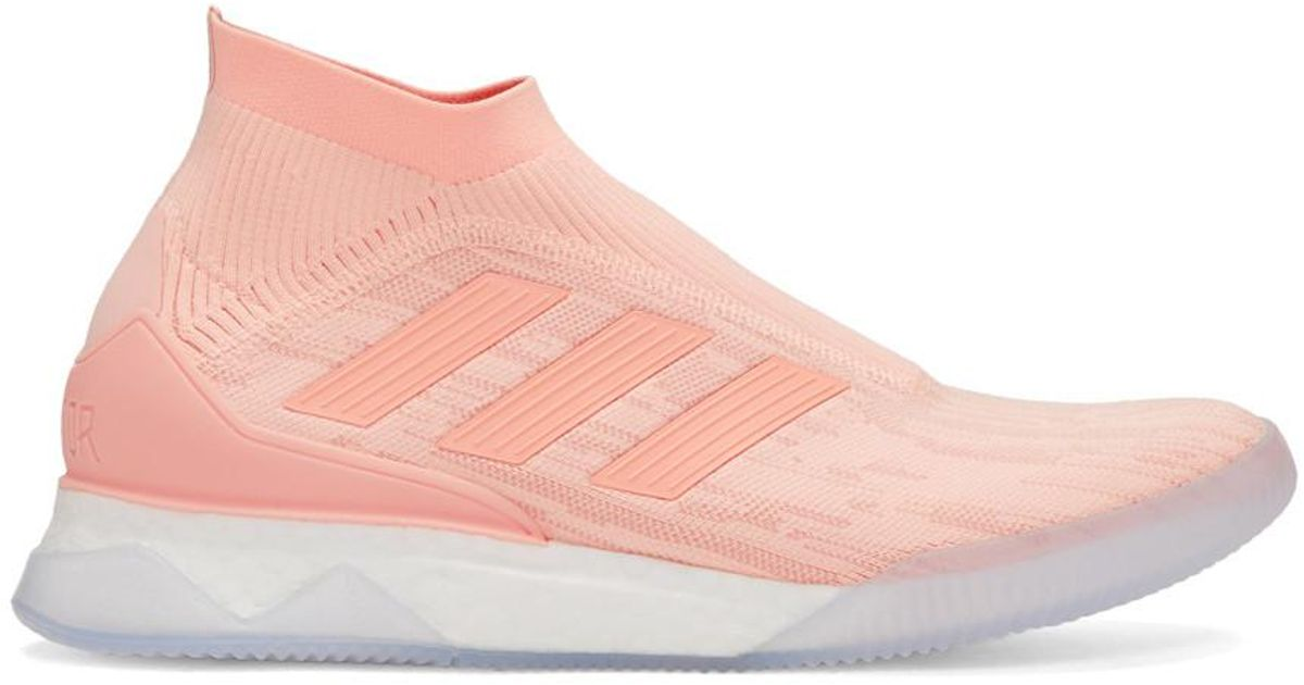 pretty nice c2f67 4d187 Lyst - adidas Originals Pink Predator Tango 18and Tr Sneakers in Pink for  Men