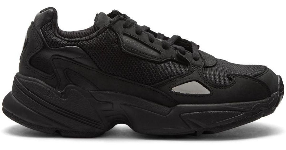 2dd698ed42e3 Lyst - adidas Originals Black Falcon Sneakers in Black
