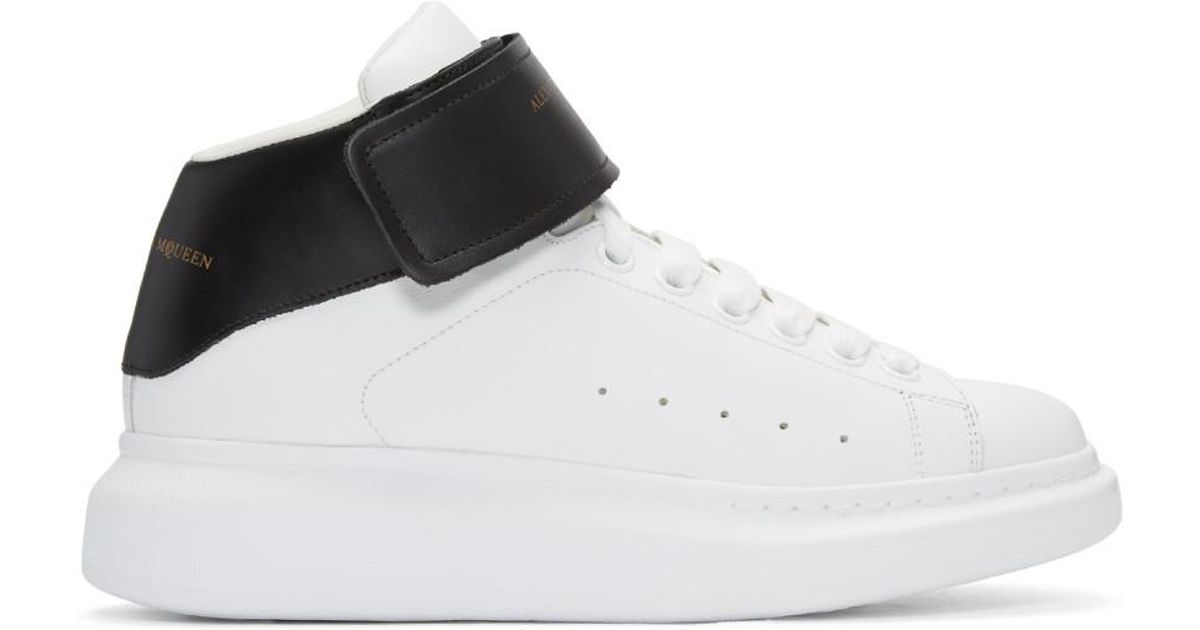 Alexander McQueen Leather Black And