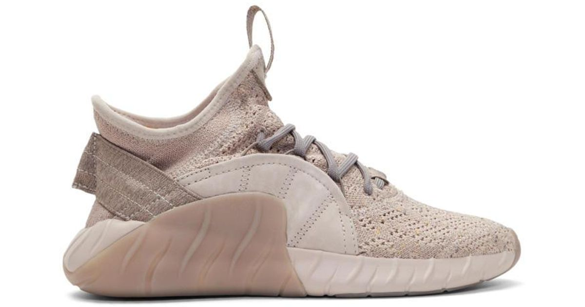check out dbe56 7136b Adidas Originals Natural Beige Tubular Rise Sneakers for men