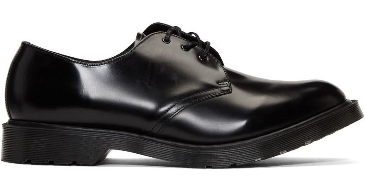 963e18aa742 Lyst - Derbys noirs 1461 Classic Made in England Dr. Martens pour homme en  coloris Noir