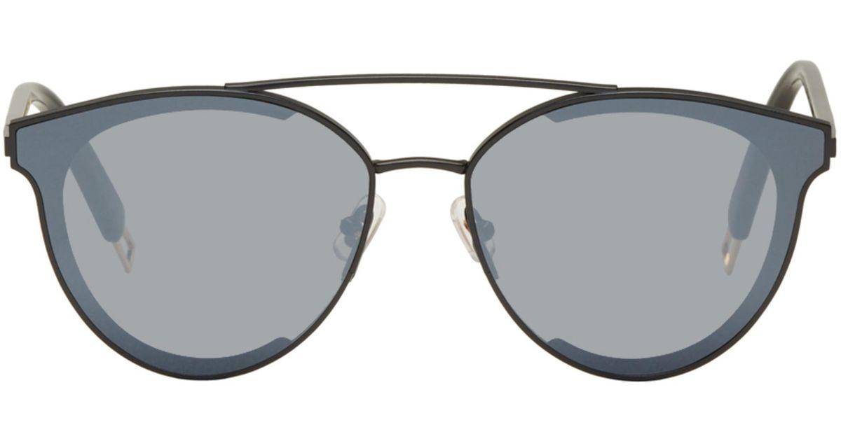 d564b022c9e Lyst - Gentle Monster Black Last Bow Sunglasses in Black for Men