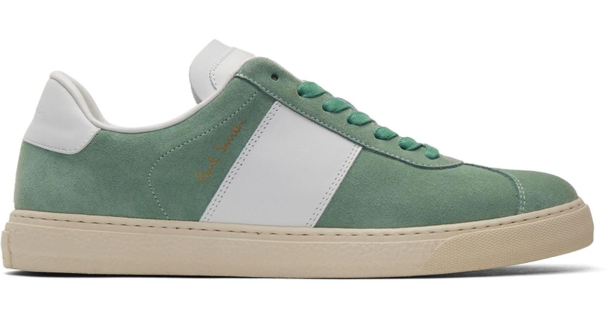 Green and White Levon Sneakers Paul Smith rm3EkNf4M