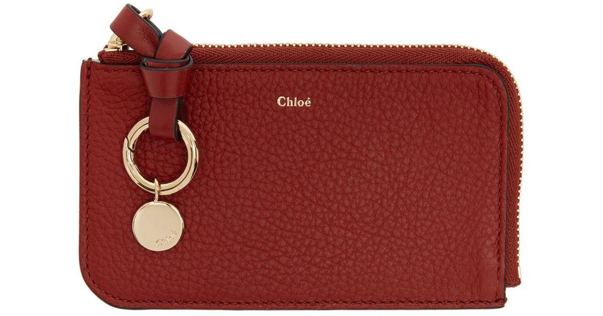 Alphabet purse - Red Chlo FbFLvavIc