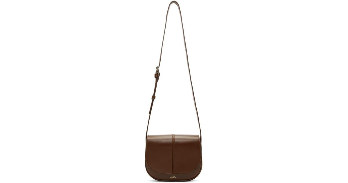 e30c9f87d196 Lyst - A.P.C. Brown Betty Bag in Brown