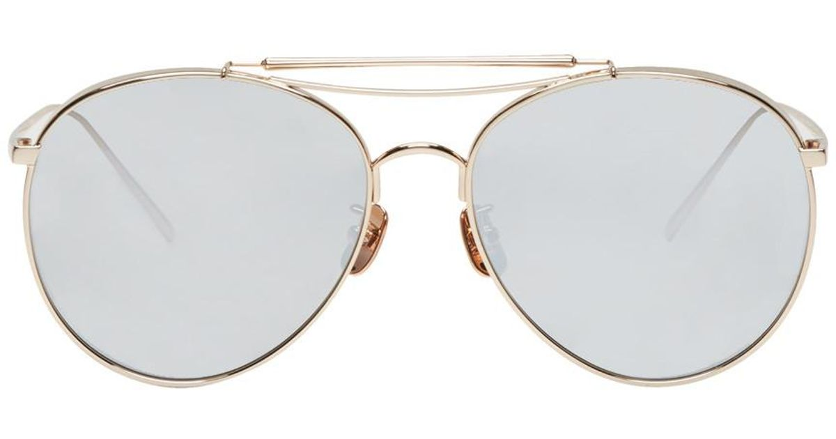 b90324f998 Lyst - Gentle Monster Gold Big Bully Sunglasses in Metallic for Men