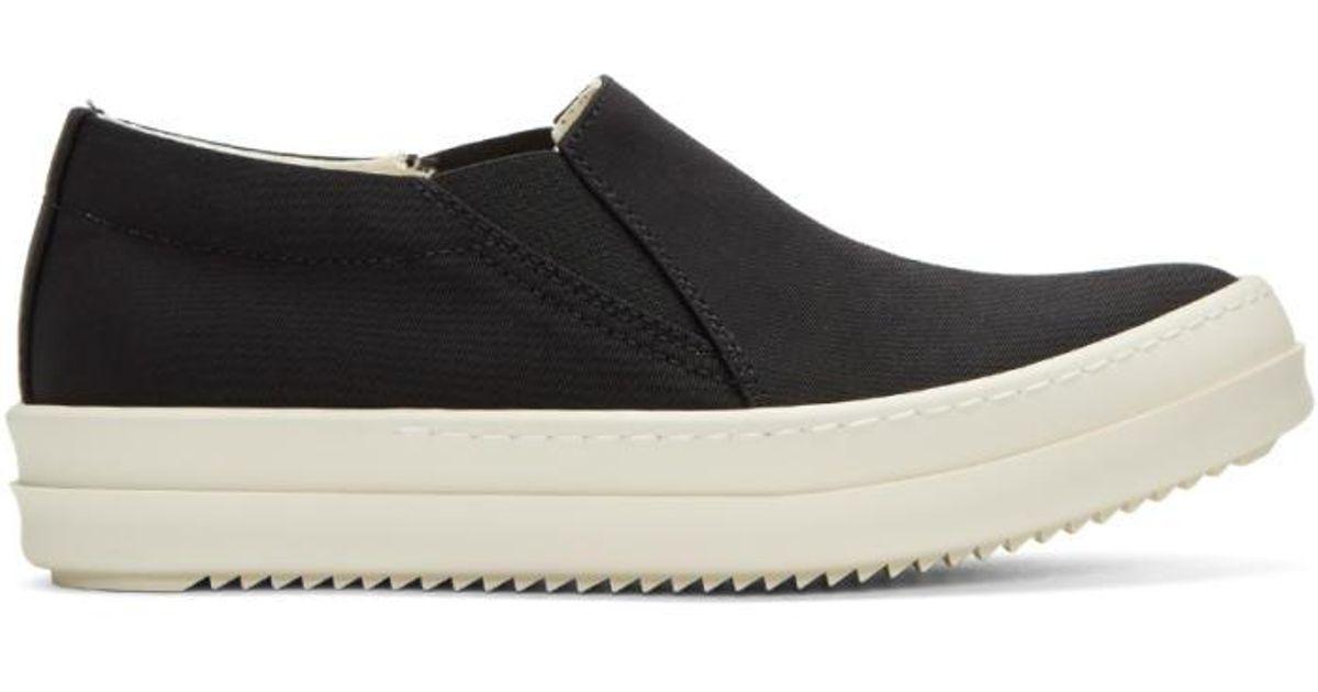 Nylon Boat Slip-on Sneakers - Lyst