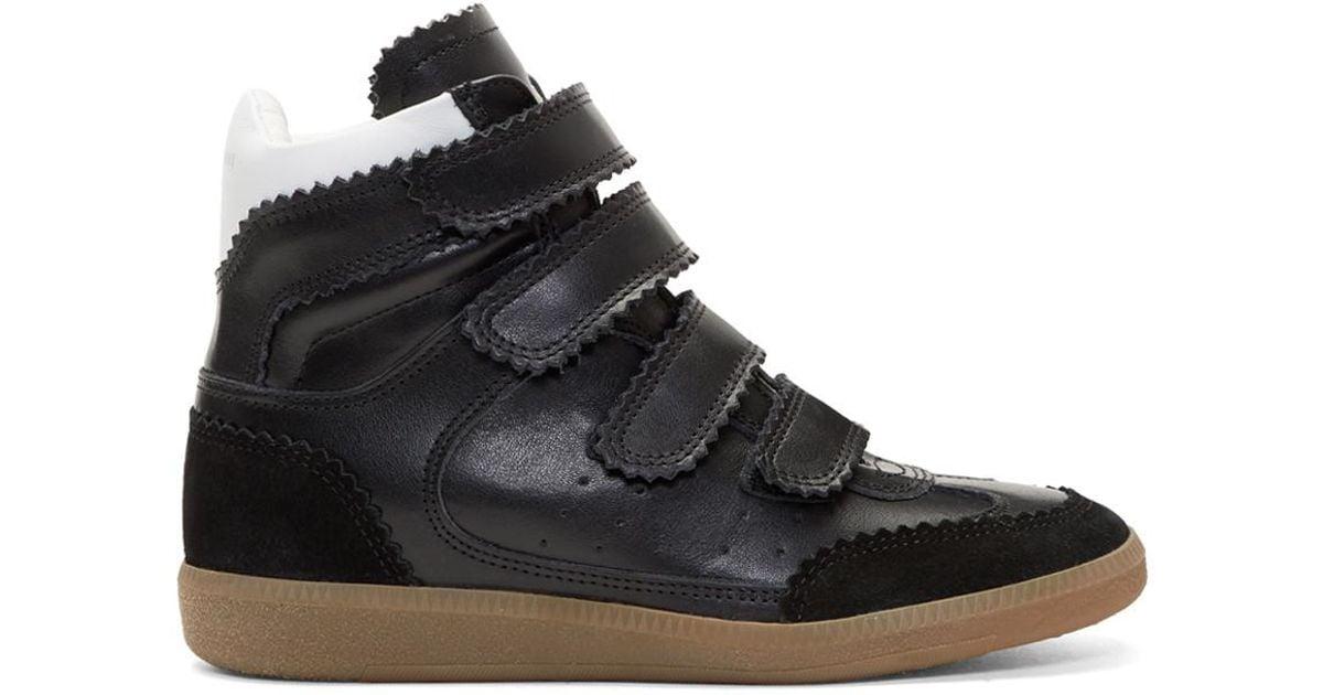 Marant High New Black Bilsy Lyst Isabel Sneakers QCrxBWdoe
