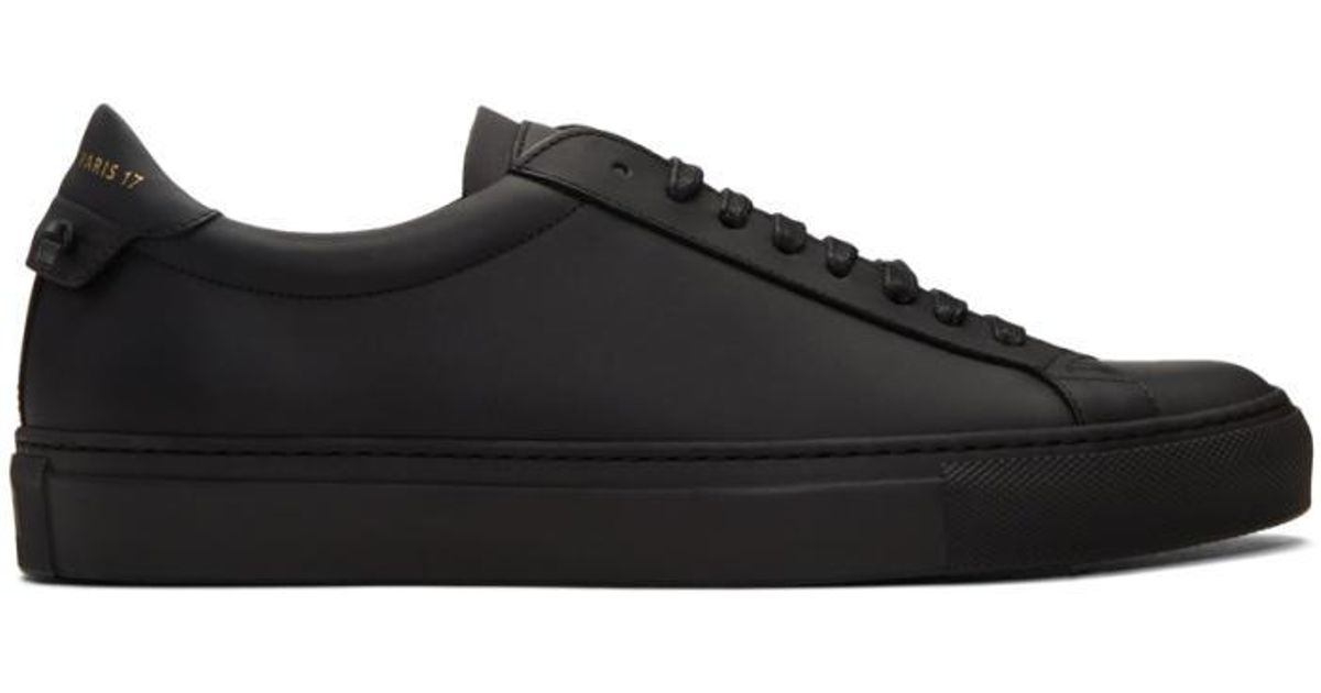 givenchy all black sneakers cheap fadb1