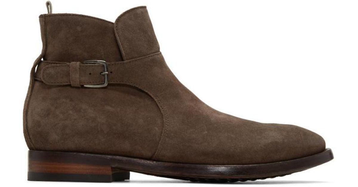 buckled boots - Brown Officine Creative With Paypal Free Shipping NfGbxeV