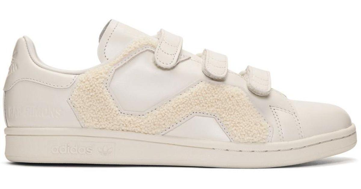 Stan Adidas Simons White Edition Pour Casse Raf Coloris