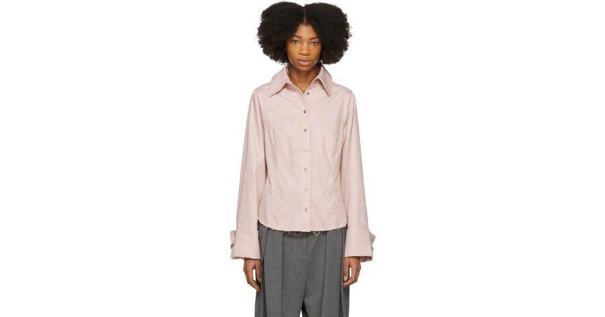 princesa Marques Almeida línea Camisa de rosa EqwBHUn4