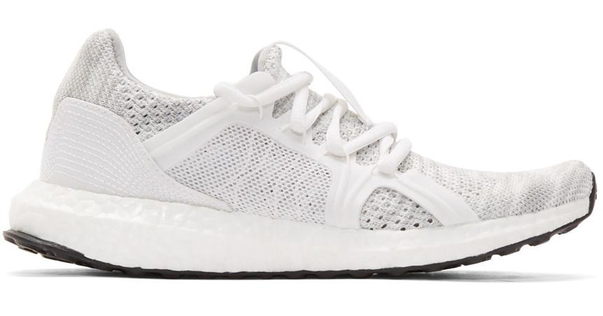 b65133628 Lyst - adidas By Stella McCartney Grey Ultraboost Parley Slip-on Sneakers  in White