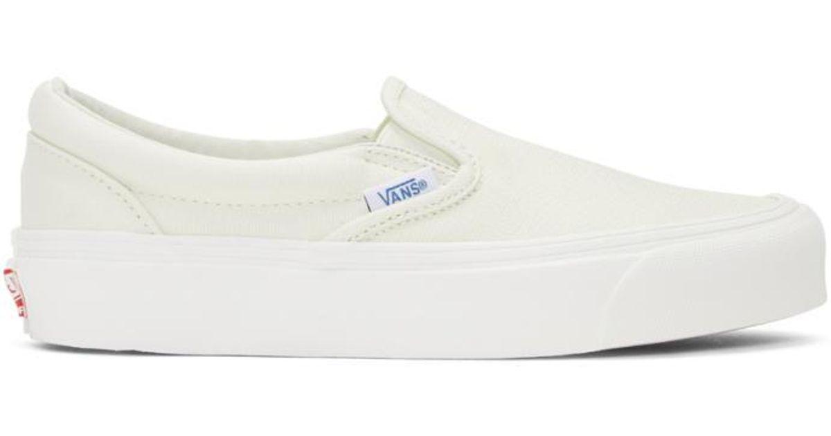 Wooyoungmi White Softy Slip-On Sneakers vkjXHXHo