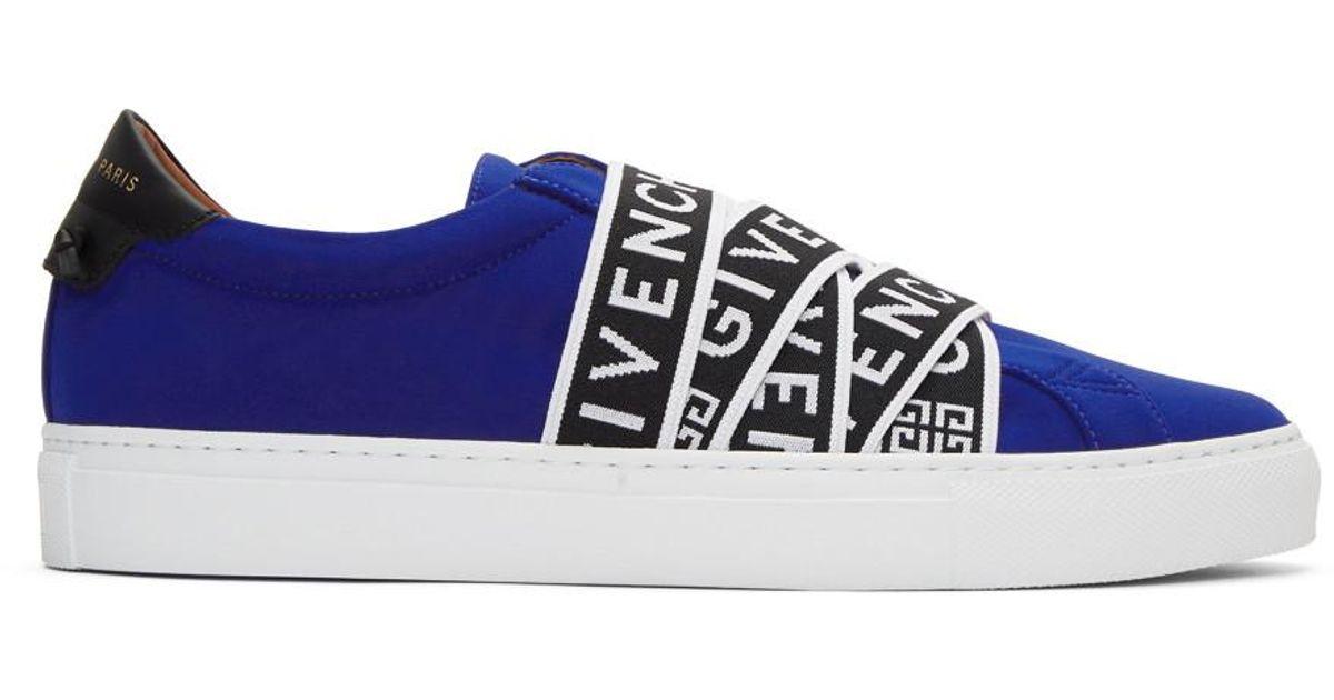 Blue Jersey Urban Knots Sneakers