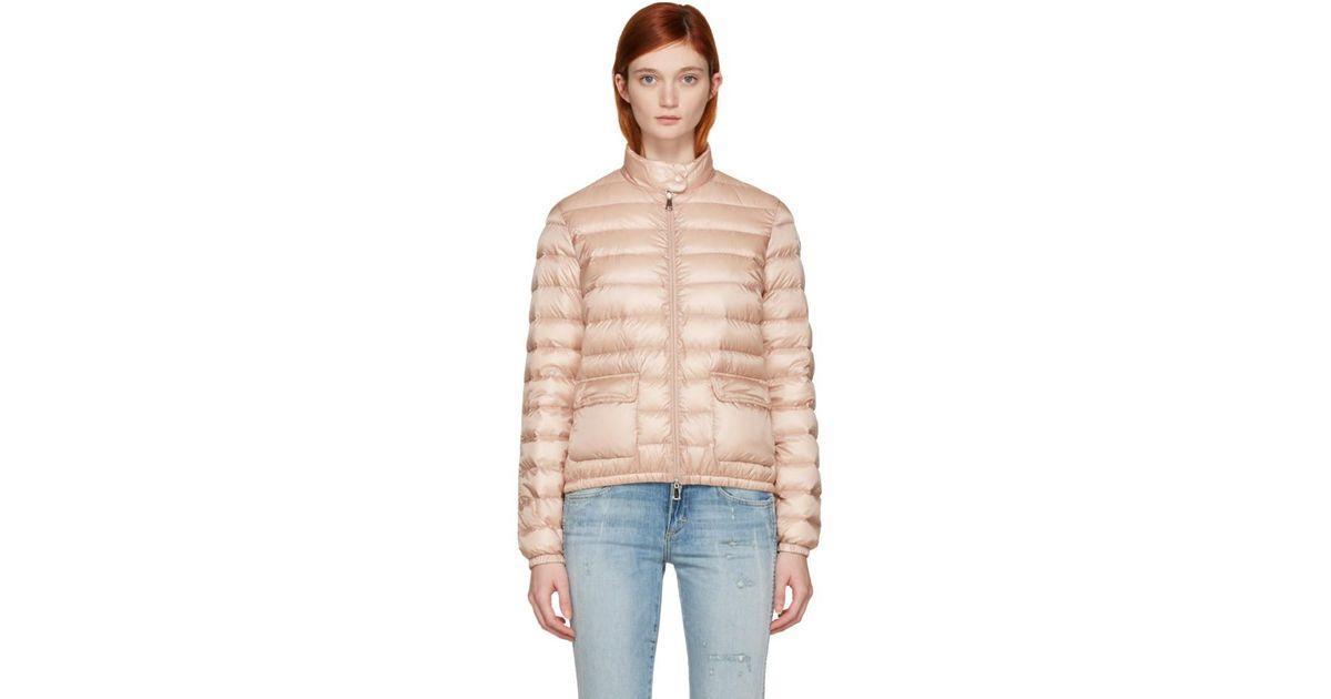 2a8590465 Moncler Multicolor Pink Down Lans Jacket
