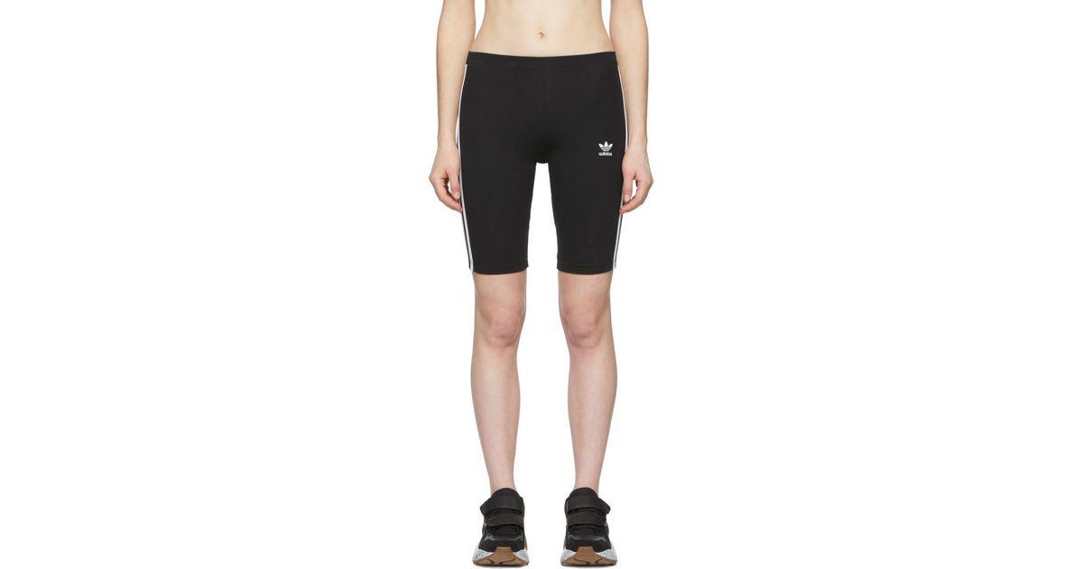 c1edb0f3 Adidas Originals Black Adicolor Cycling Shorts
