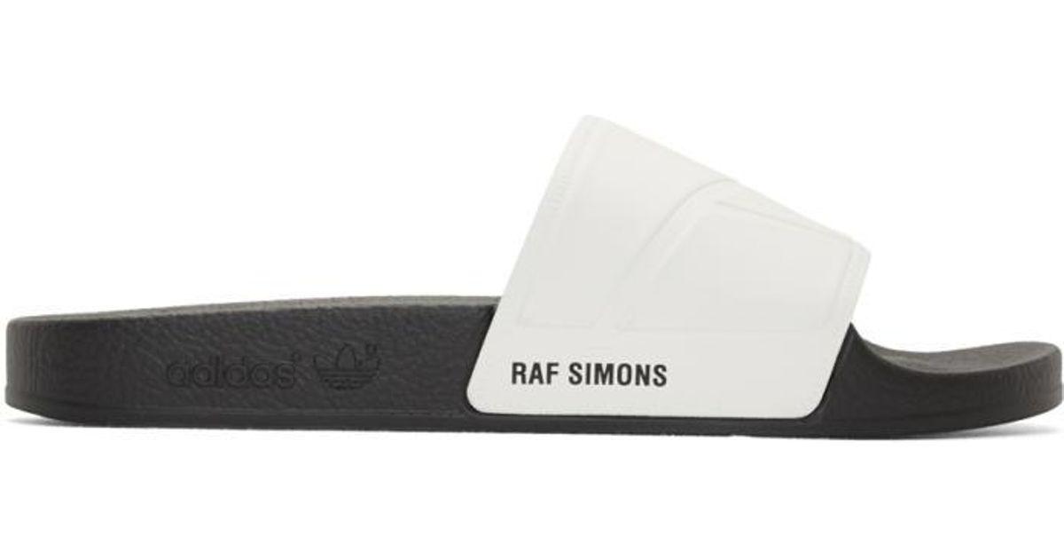 lyst raf simons biancastro adidas originali edizione