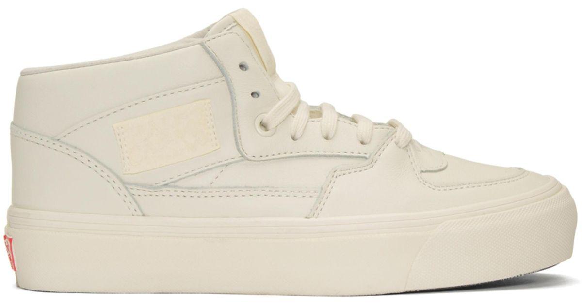 ec3970a9b68c0c Lyst - Vans Off-white Steve Caballero Edition Og Half Cab Lx Sneakers in  White for Men
