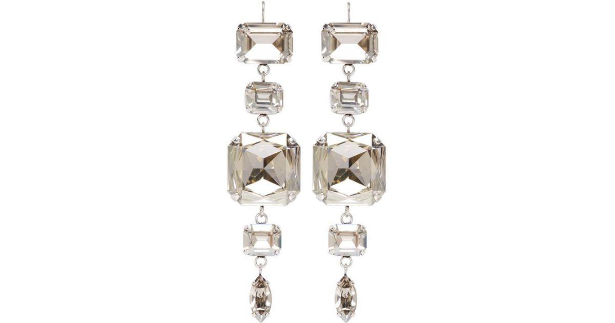 1a1accd14b Isabel Marant Silver Blondie Earrings in Metallic - Lyst