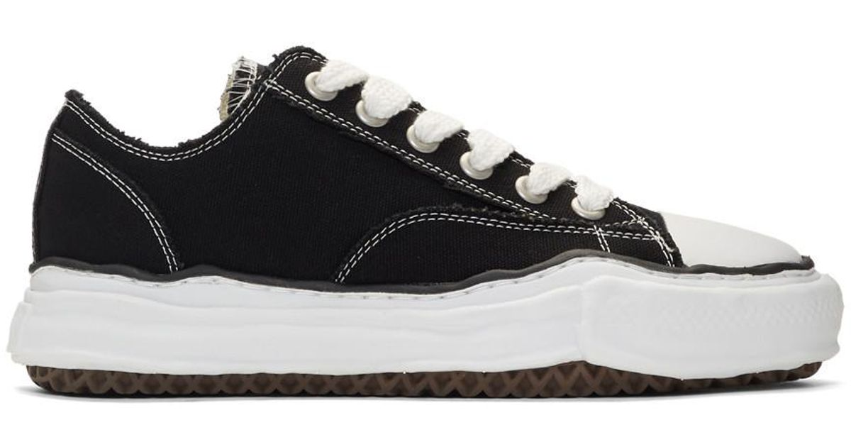 Canvas Black Original Sole Sneakers