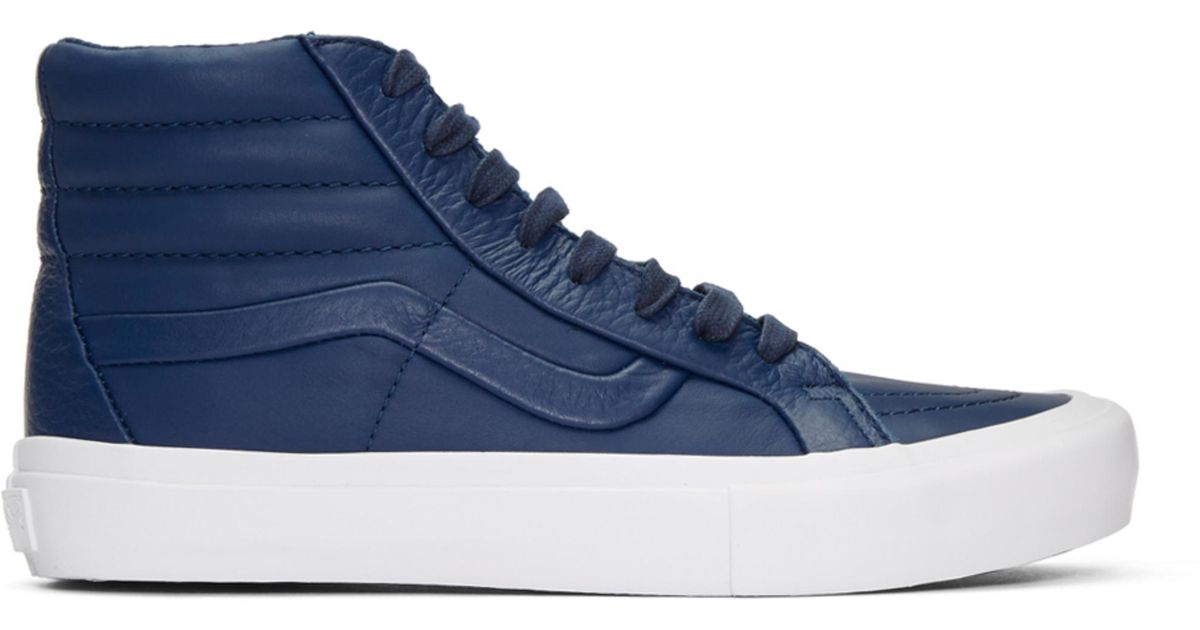 Navy Stitch and Turn Sk8-Hi Reissue ST Sneakers Vans XLfekd
