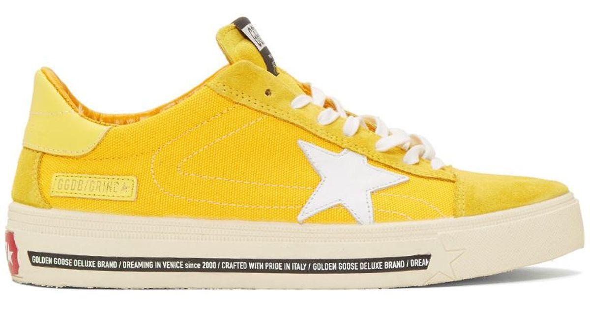 Golden Goose Deluxe Brand Suede Yellow