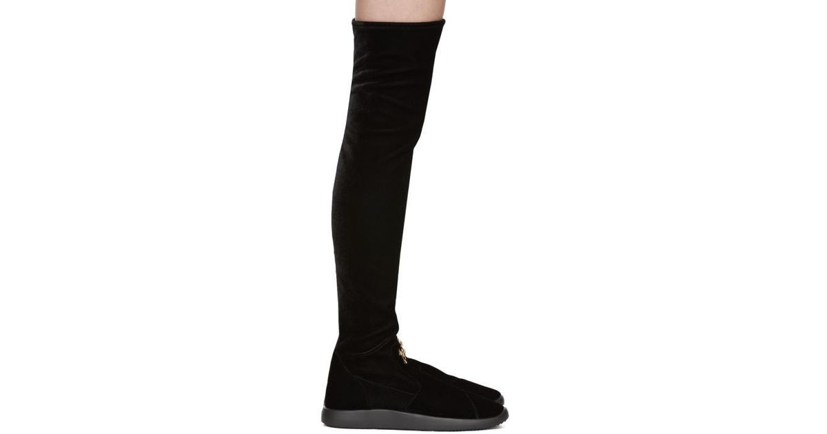 Giuseppe Zanotti SSENSE Exclusive Bimba Over-the-Knee Boots BoNUKNfl