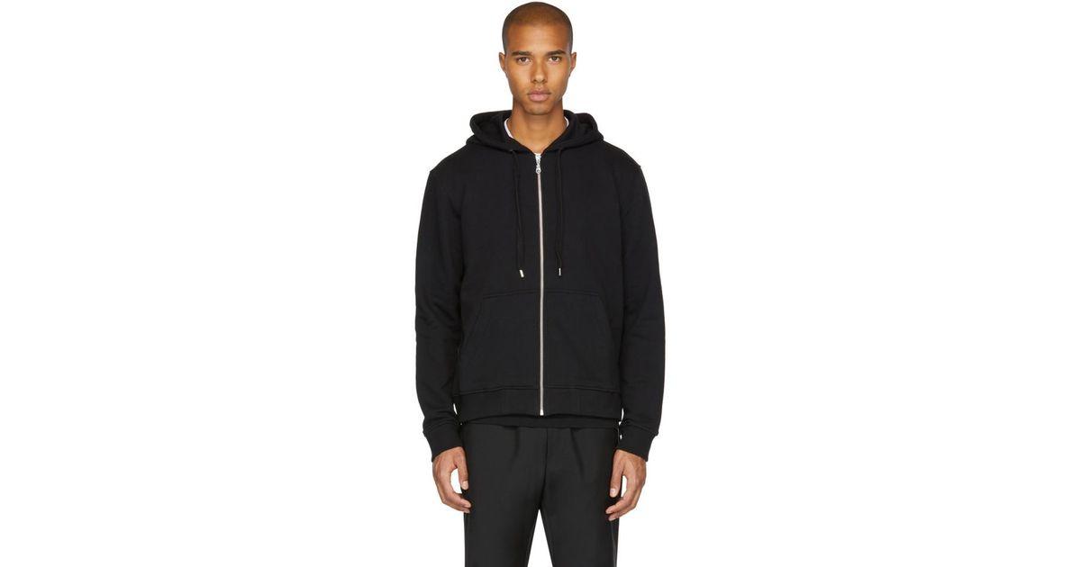 91d632873c44 KENZO Men's Logo-hood Zip-front Hoodie Cotton Jacket in Black for Men -  Save 55% - Lyst