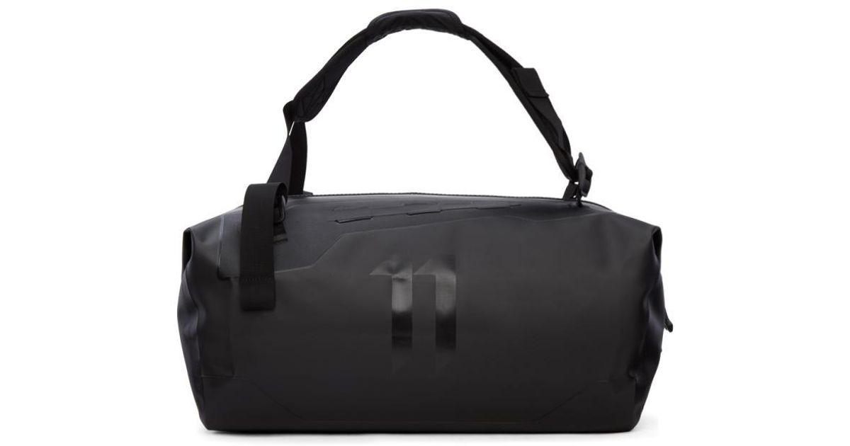 Boris Bidjan Saberi 11 Black Waterproof Duffle Bag For Men