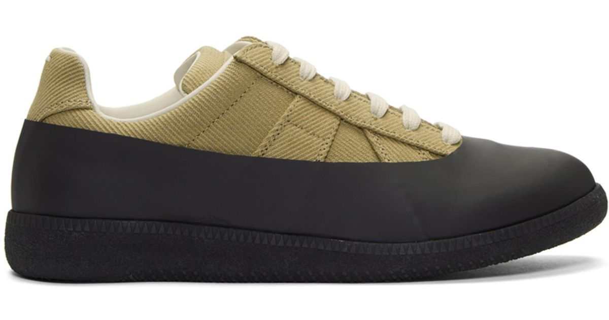 Black Galosh Replica Sneakers Maison Martin Margiela I8NgTj2Gp