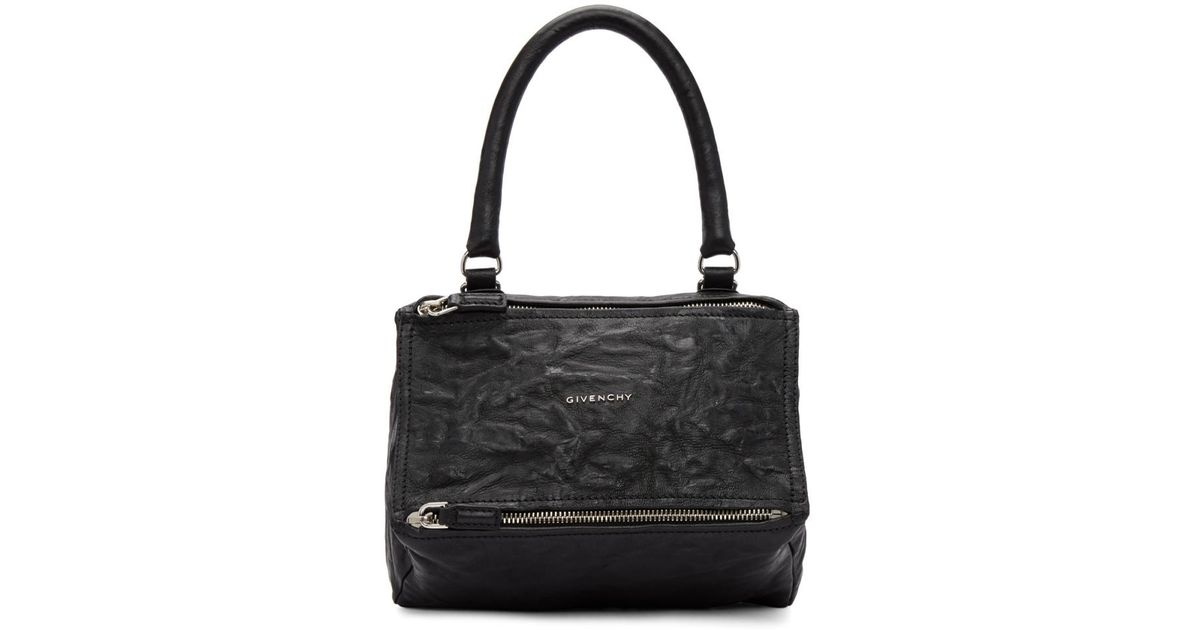a304bf1622 Lyst - Givenchy Black Small Pandora Bag in Black - Save 1.7142857142857082%