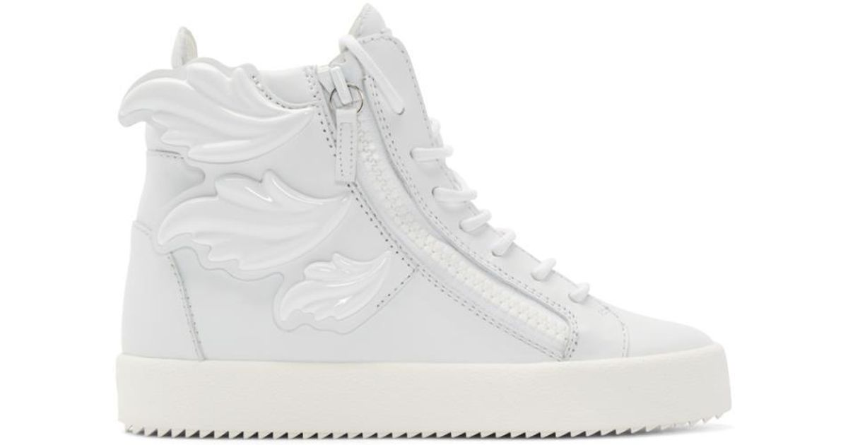 Wing London High-top Sneakers - Lyst