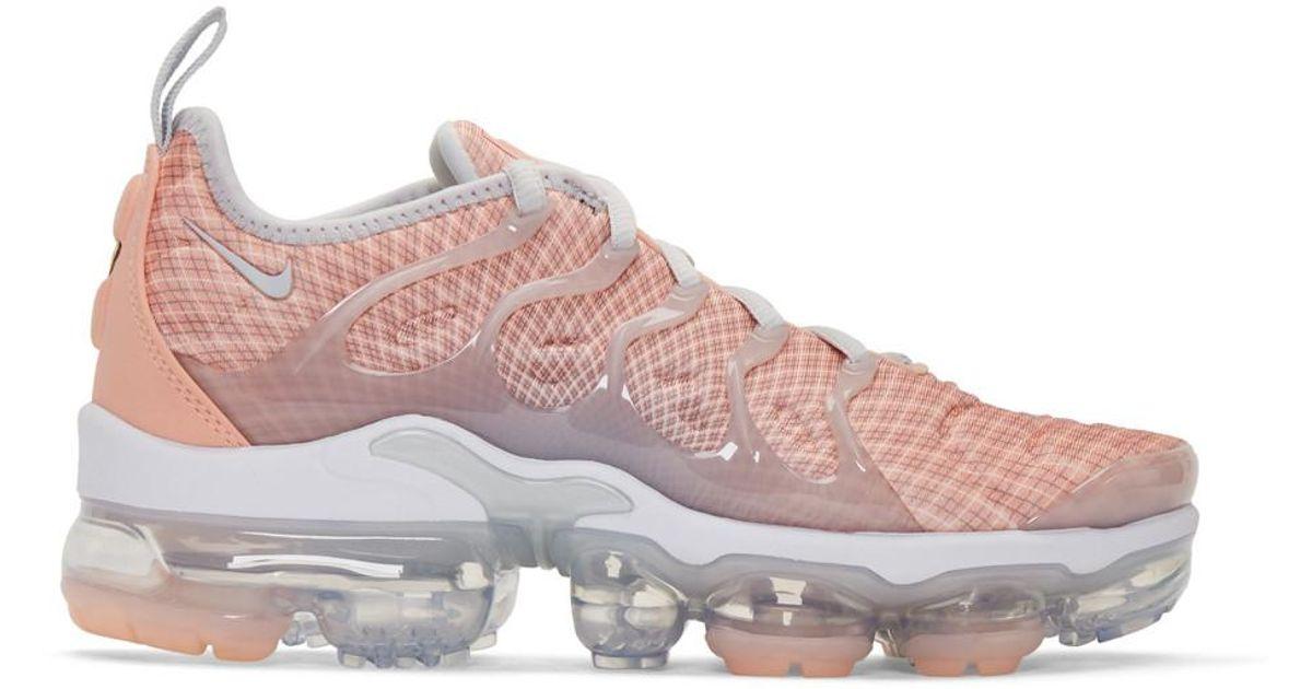 new arrival f7662 6975b Nike Pink Air Vapormax Plus Sneakers