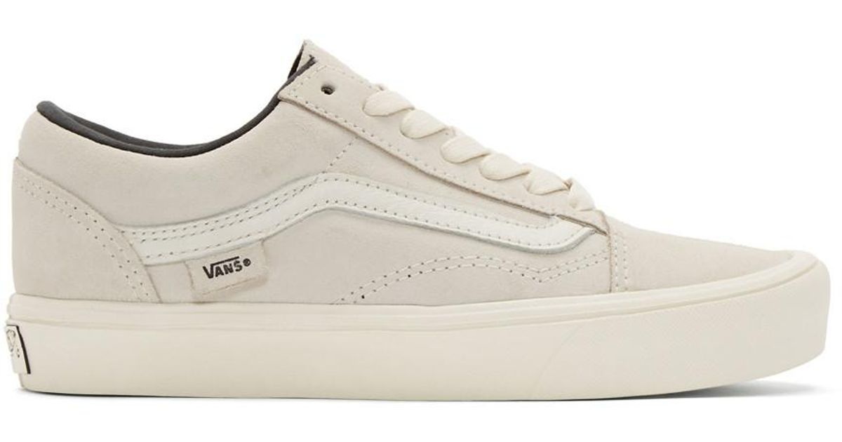 Vans Off white Old Skool Lite Lx Sneakers for men