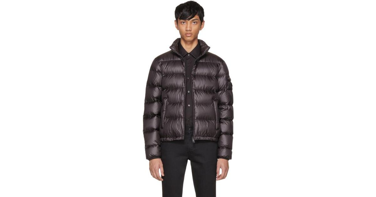 12f0b7240 Prada Black Down Ripstop Puffer Jacket for men