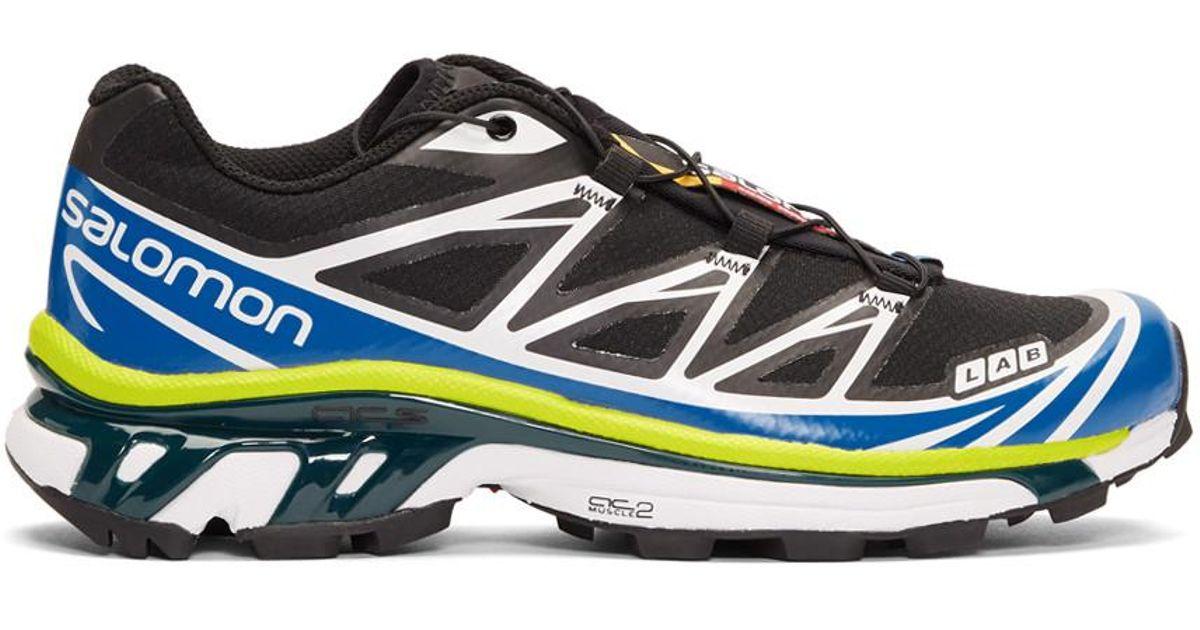 super populaire 6acdd e5c04 Yves Salomon Blue S/lab Xt-6 Softground Adv Sneaker for men