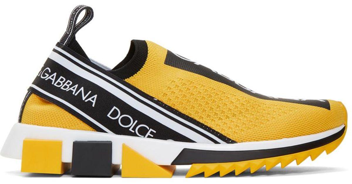 Yellow Sorrento Sneakers - Lyst