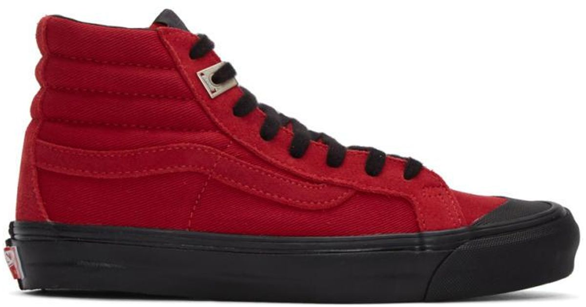 cb7e348a35 Vans Red Alyx Edition Og Style 138 Lx High-top Sneakers for men