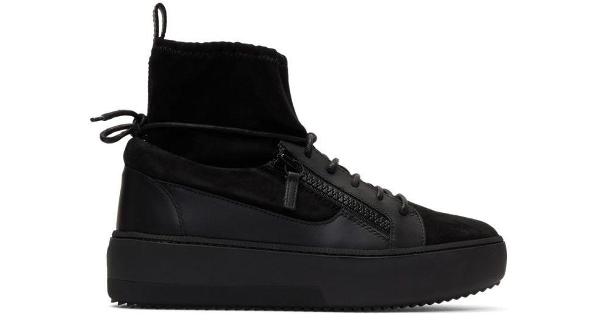 Zola High Top Sneaker Giuseppe Zanotti neI3fQU