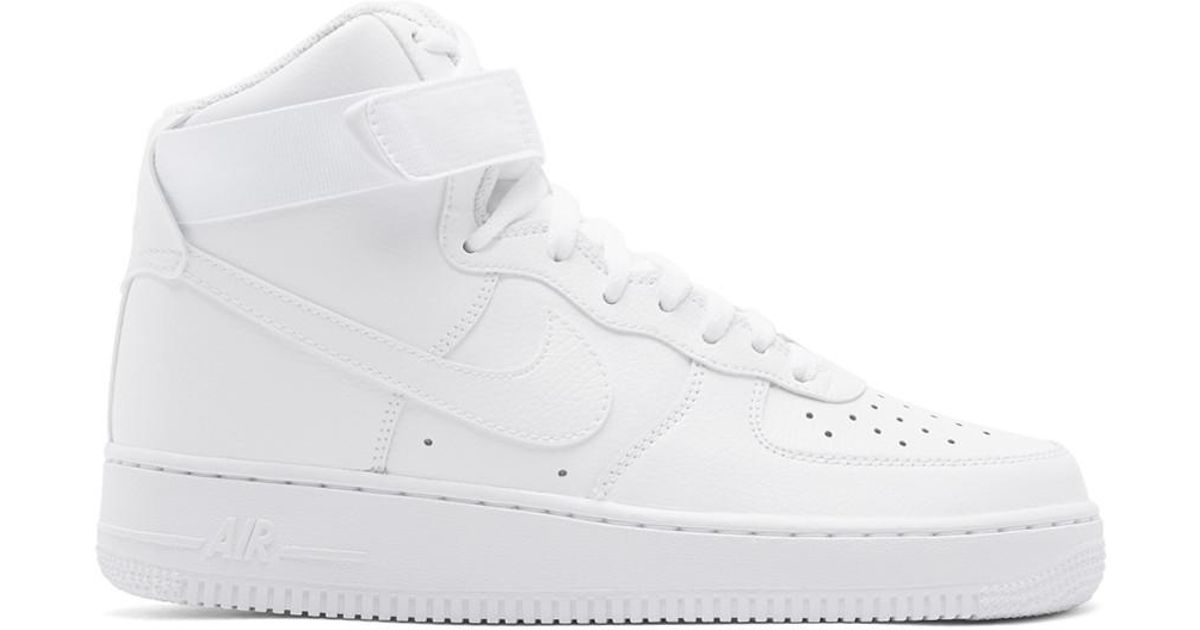 plus de photos b5ec2 b0e68 Baskets montantes blanches Air Force 1 07 Nike pour homme en coloris White