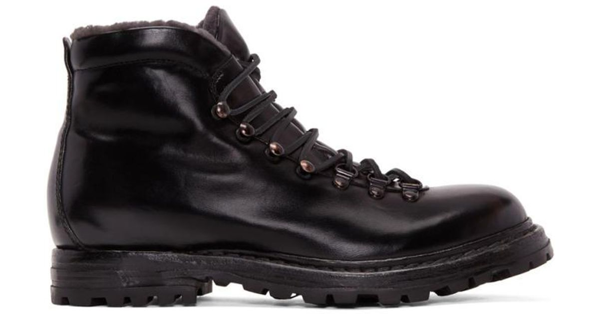 Officine creative Shearling Kontra Hiking Boots zfDgD